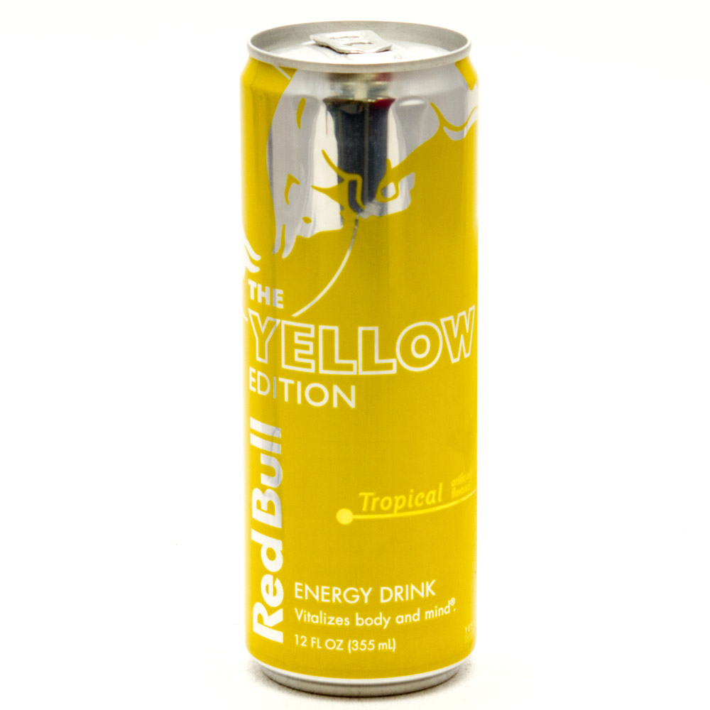 Red Bull Yellow Tropical Energy drink 250ml