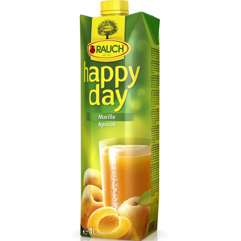 Rauch Happy Day Meruňka 1l