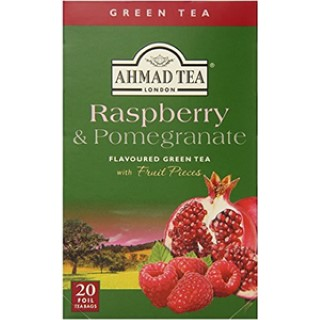 Ahmad tea Green raspberry,pomegranate 20/2g