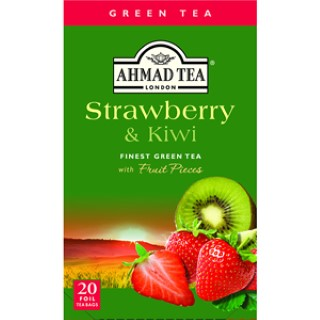 Ahmad tea Green strawberry,kiwi 20/2g