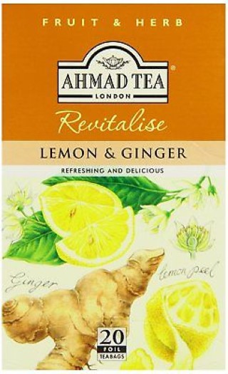 Ahmad tea Lemon,ginger 20/2g