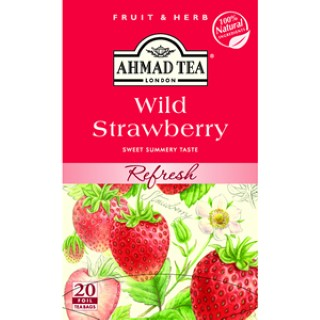 Ahmad tea Wild strawberries 20/2g