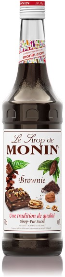 Monin Brownie Sirup 0.7l