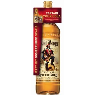 Captain Morgan 3l Spiced gold 35%