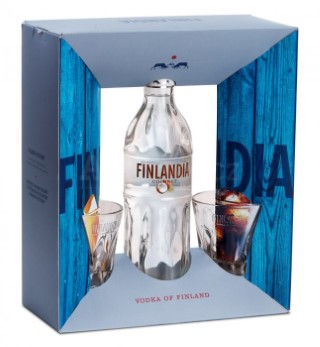 Finlandia Coconut Vodka + 2 skla 37.5% 0.7l