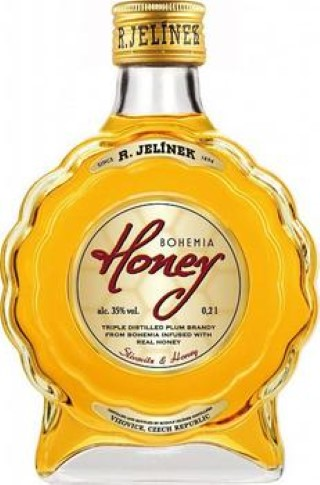 Bohemia Honey slivovice 35% 0,5L