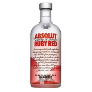 Absolut vodka ruby red/grep 40% 0.7l