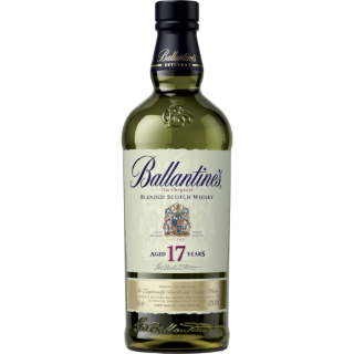 Ballantine's 17years old whisky 43% 0,7L