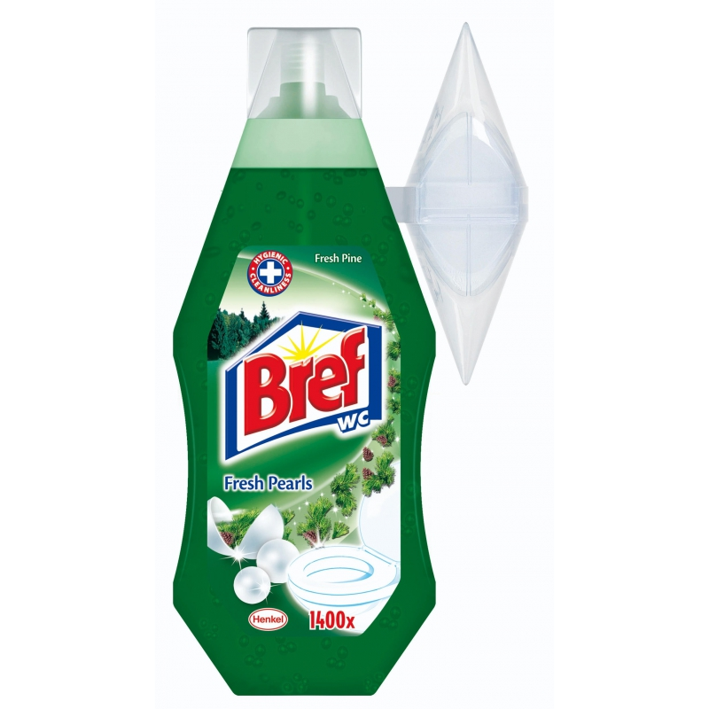 Bref WC gel+košíček fresh pine 360ml