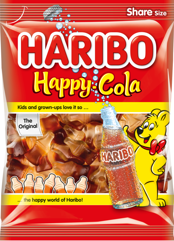 Bonbóny Haribo happy cola 200g