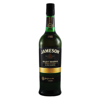 Jameson 0.7l black barrel irish whisky 40%