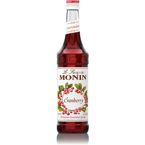 Monin Cranberry - Brusinkový Sirup 0.7l