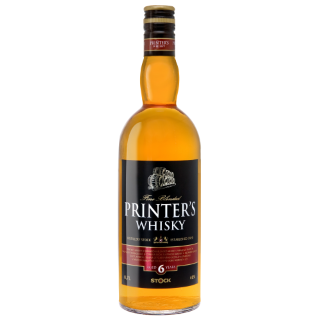 Printers whisky 0.7l 40% whisky