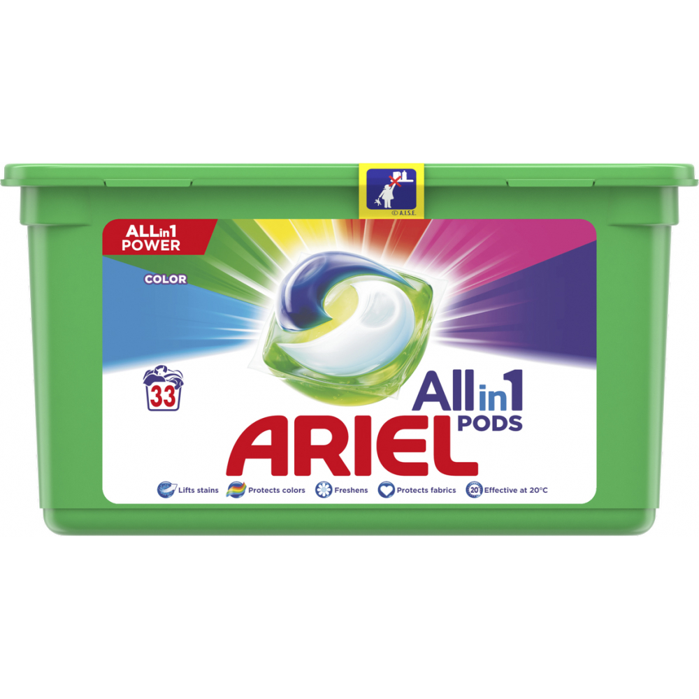 Ariel Color tablety 33dávek