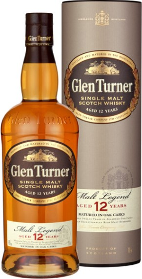 Glen Turner 12y 0,7l 40% single malt scotch whisky