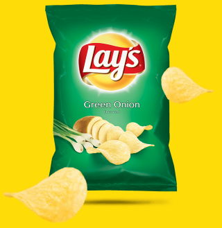 Lays green onion 70g