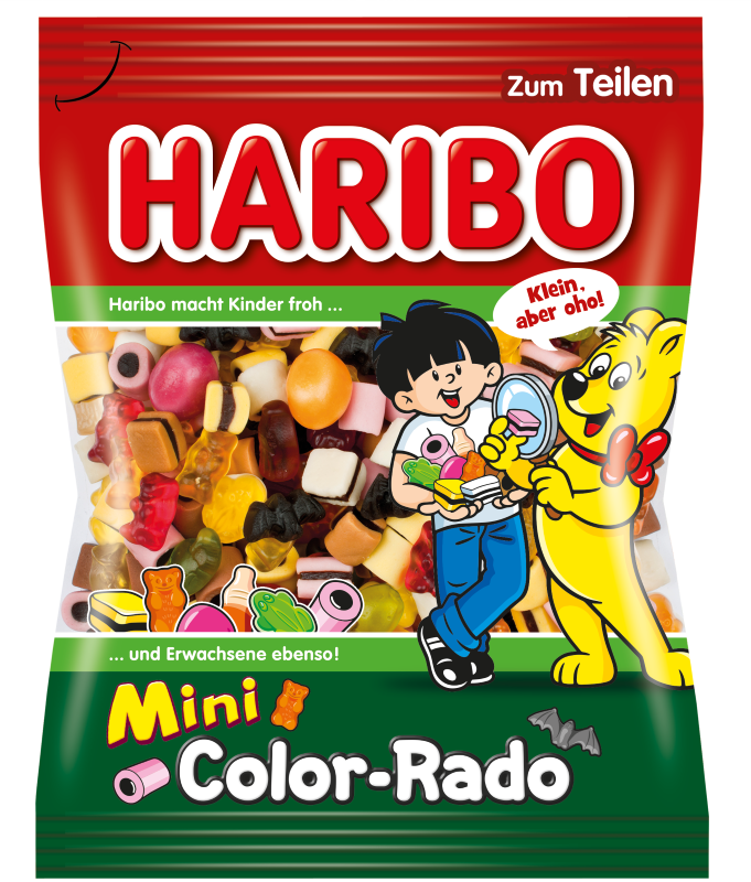 Bonbóny Haribo mini color rado 175g