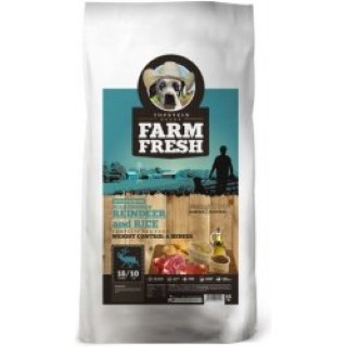 Krmivo pro psy Farm Fresh scan rei and rice 5kg