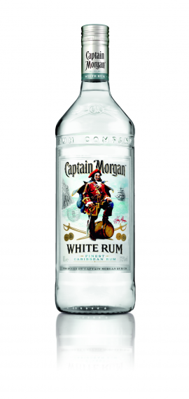 Captain Morgan White Rum 37,5% 1l