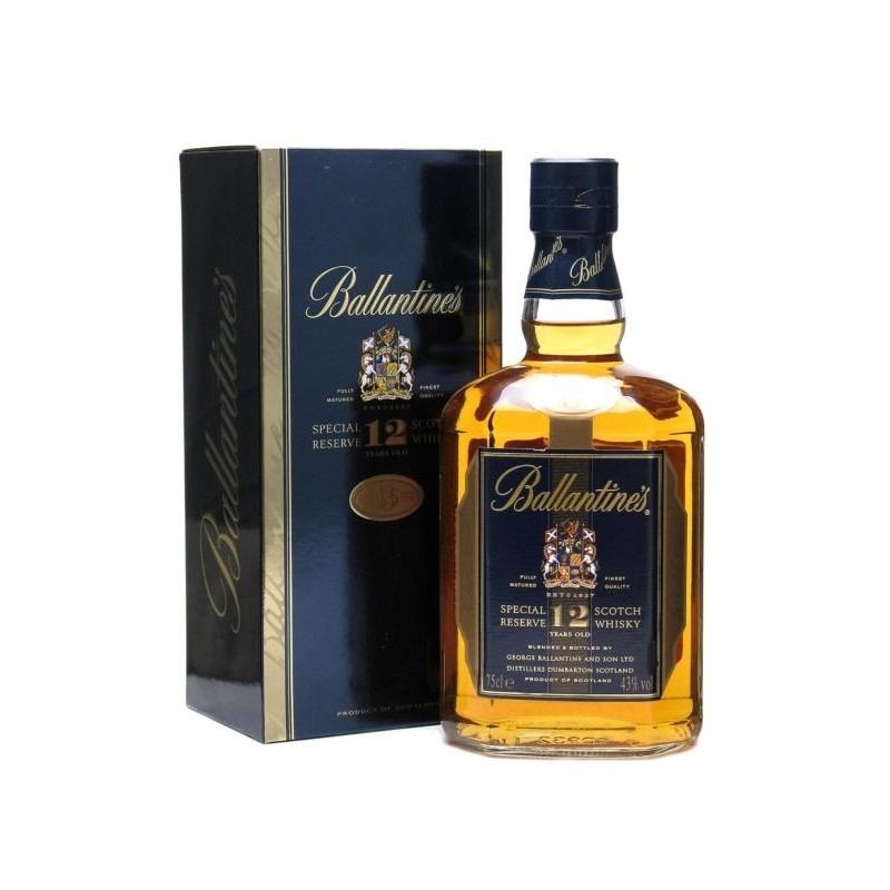 Ballantine's 12years old whisky 40% 0,7L